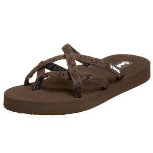 Teva Mush OLOWAHU Brown Flip Flops